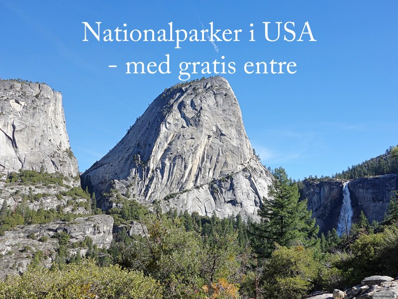 Nationalparker i USA med gratis entre