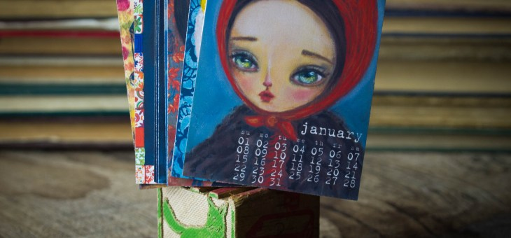 The 2017 Danita Art mini desk calendar