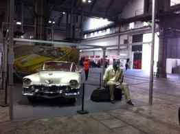 Blacksad en la exposición dedicada a los vehículos en el cómic