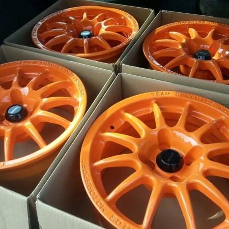 Custom Alloy Wheel Painting Nottingham Derby & Long Eaton