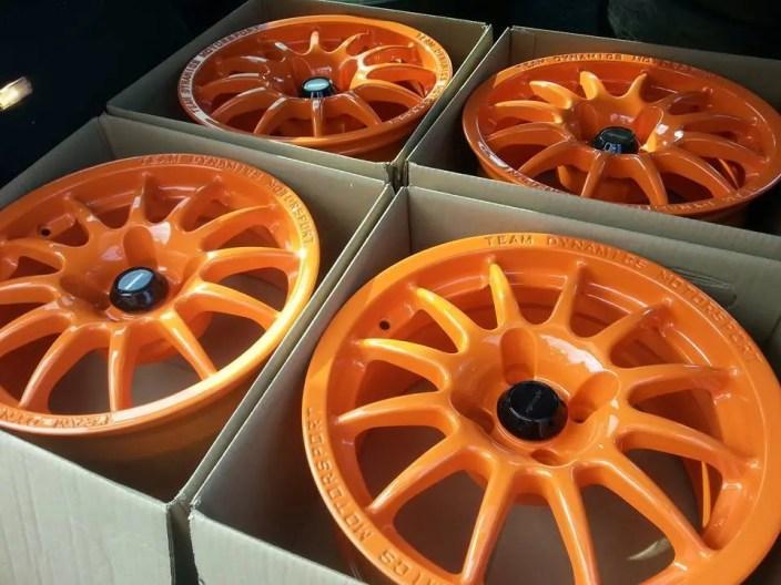 Track Car Wheel Refurbishment Nottingham Derby & Long Eaton