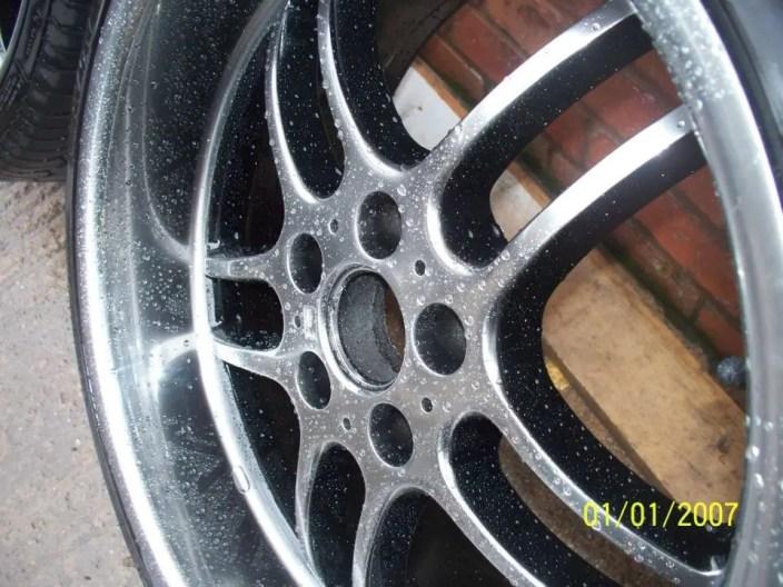 Shadow Chrome Alloy Wheel painting Nottingham, Derby & Long Eaton
