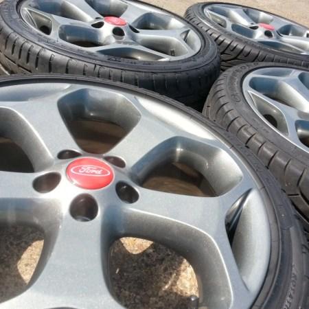 Ford Focus ST Alloy Wheel Refurbishment Nottingham, Derby & Long Eaton