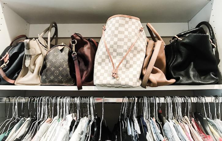 organize your handbags