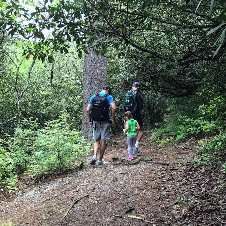 Highlands North Carolina hiking
