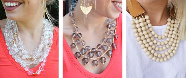 shop statement necklaces