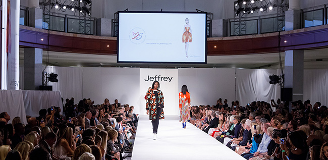 Jeffrey Fashion Cares 2017 Atlanta