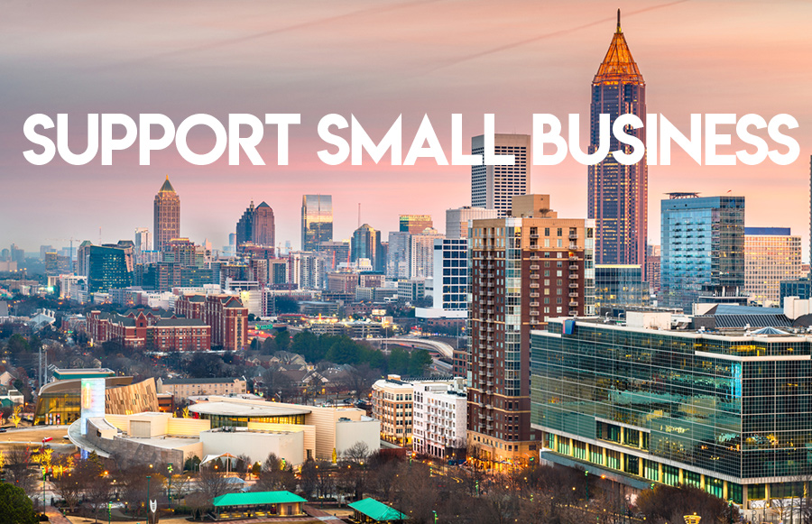support atlanta businesses during covid