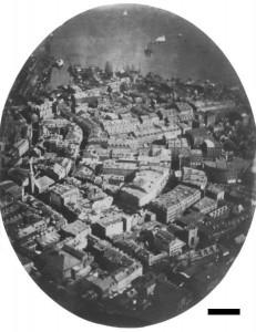 prima fotografie fauta din aer..1896