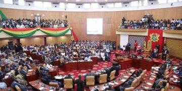 NDC finally files petition; leader Mahama addresses supporters at 8pm