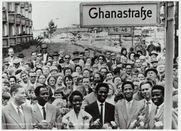 Did You Know In 1958, Berlin (German) Named A Street Called 'Ghana Street' To Honour Ghana A Year After Independence?