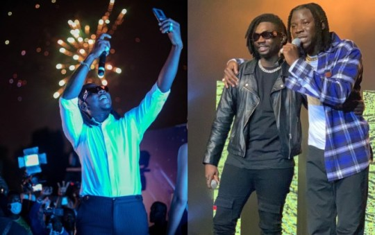 Watch The Fun Moment, Stonebwoy Sang In French With His Ivorian Friend At The Launch Of TECHNO Phantom X (+VIDEO)