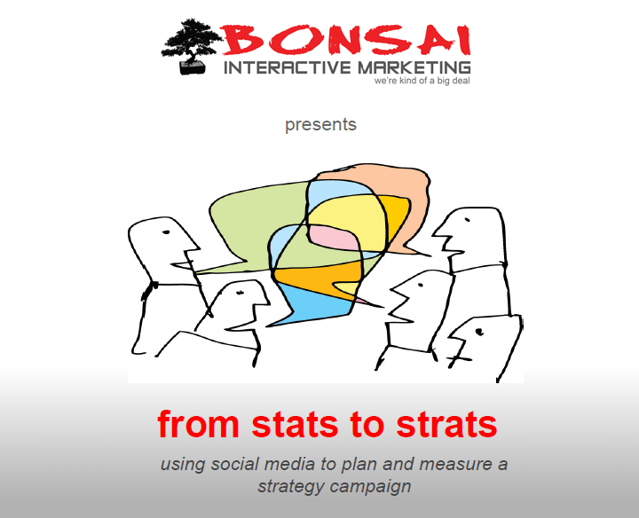 From Stats to Strats – Free Social Media Ebook
