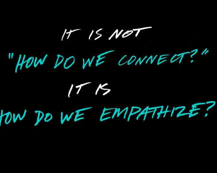 Empathy is a Social Currency
