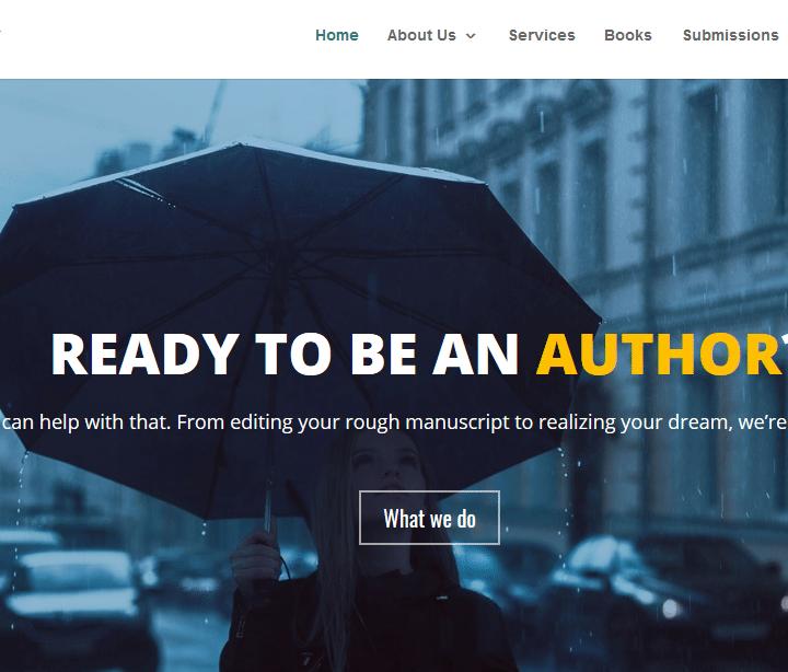 Morning Rain Publishing Website