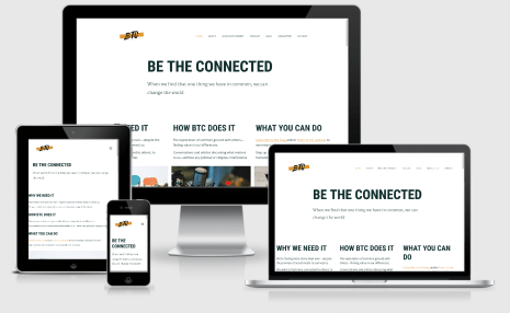 Be The Connected podcast and site