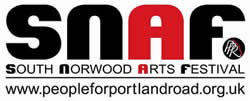South Norwood Arts Festival logo