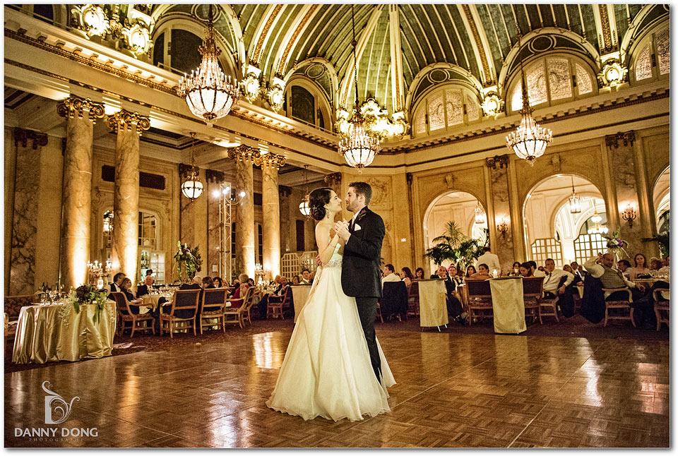 Palace Hotel Wedding Jennifer Amp Aaron San Francisco