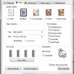 Printer Preferences - Main