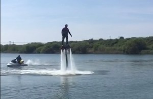 Flyboarding dannywallispt