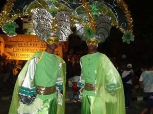 Danseurs du carnaval