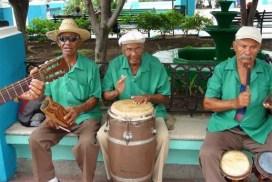 musiciens de rue cubaine