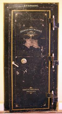 Historic Restoration Of Vault Doors Requires An Artists