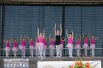 Optreden Bloemencorso '18. Foto: Stephanie Turion