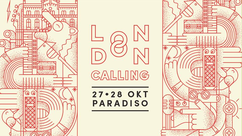 Win duo weekendtickets London Calling Amsterdam