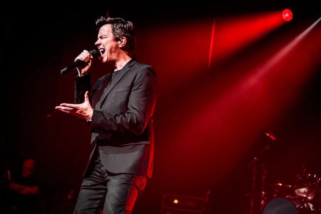 Rick Astley @ Ancienne Belgique (AB): We'll sometimes have to give you up…
