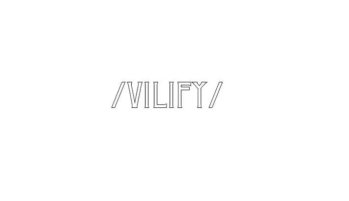 "Nieuwe single Vilify - ""Before"""