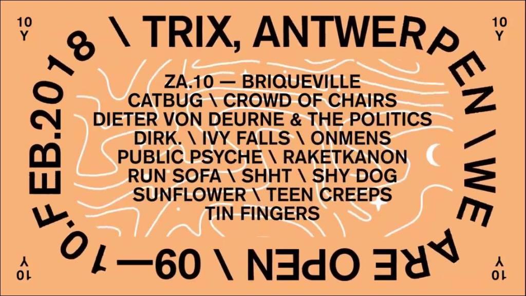 We Are Open (zaterdag) @ Trix: Noise, space, punk en gewoon goeie rock
