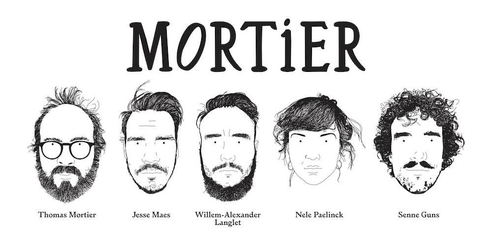 "Première: Debuutsingle Mortier - ""Marie"""