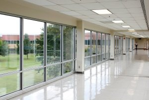 commercial window installation