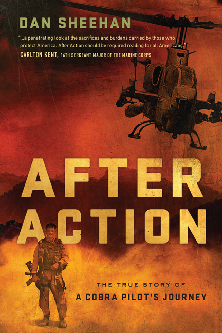 book cover - After Action: The True Story of a Cobra Pilot's Journey