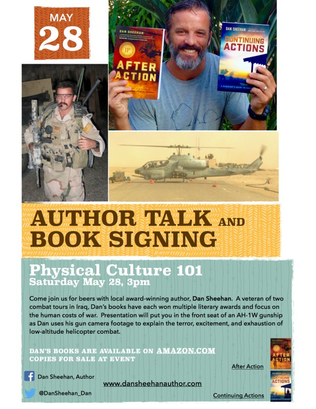Come join me at Physical Culture 101 in Encinitas on 28 May, 2016. Presentation will start around 3pm and I'll be signing books afterward.