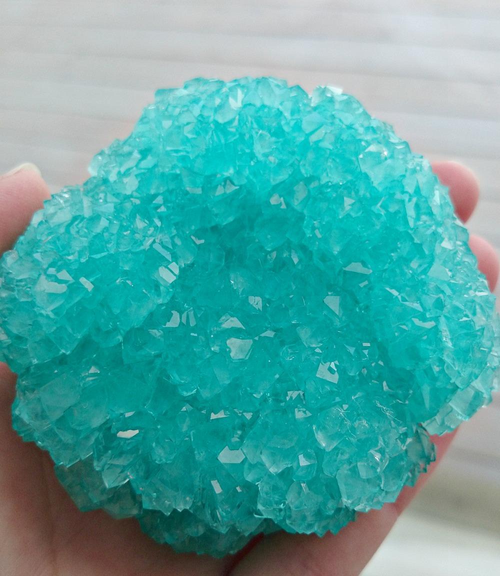 DIY borax crystals craft ideas for kids