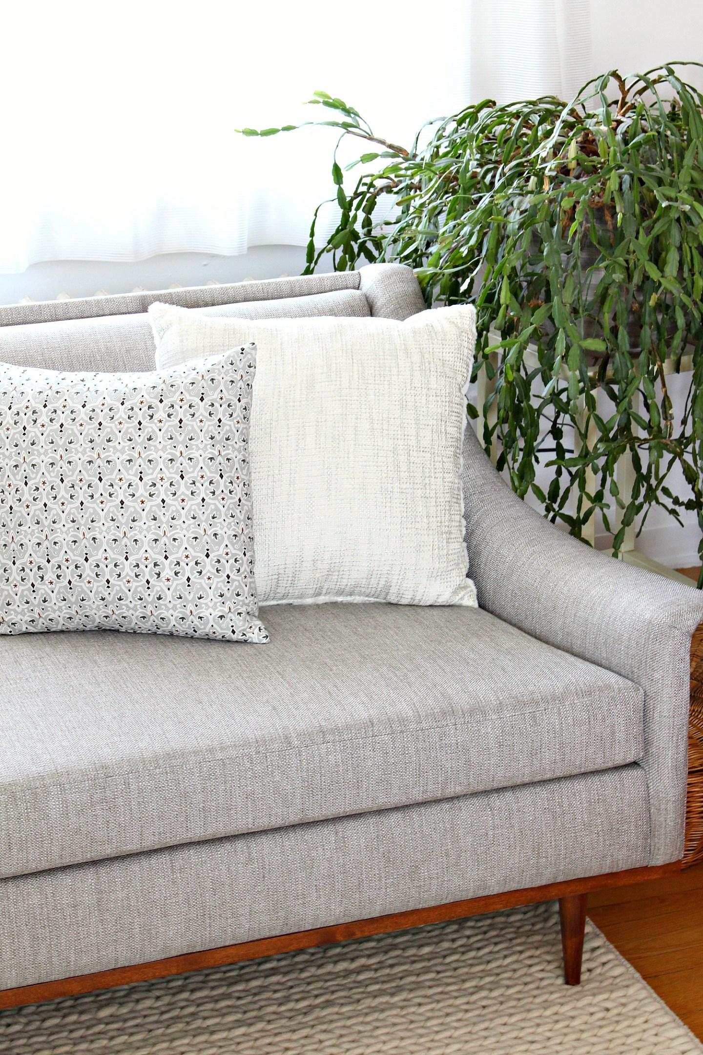 Vintage Sofa Makeover Project
