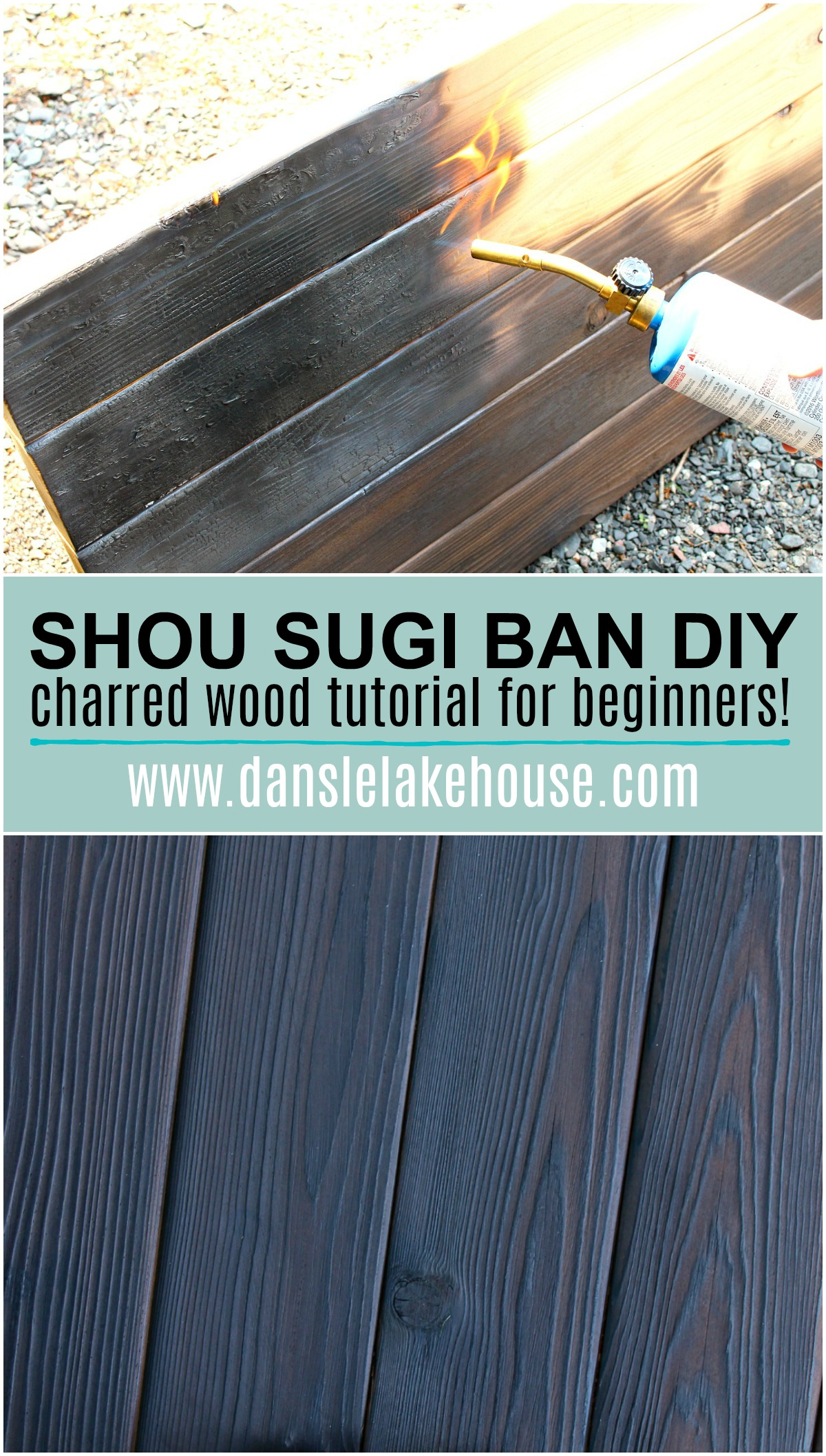 Shou Sugi Ban DIY: Charred Wood Tutorial for Beginners