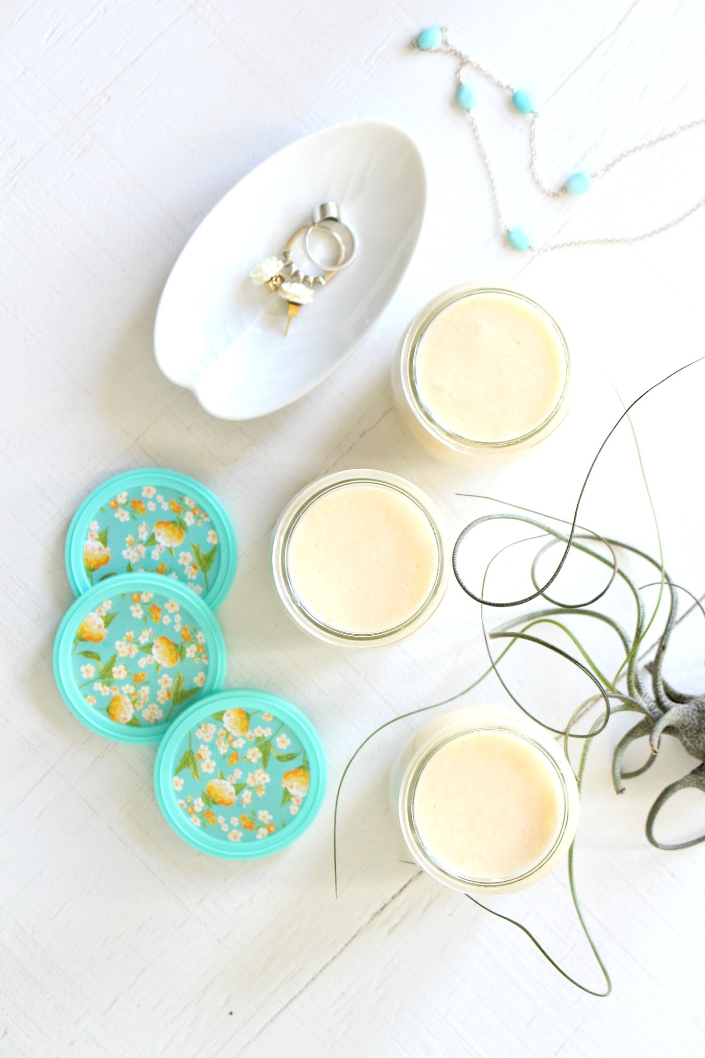 DIY whipped body butter - all natural beauty products