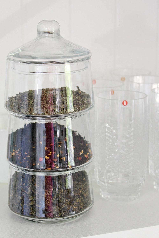 Clever Idea for Storing Loose Leaf Tea
