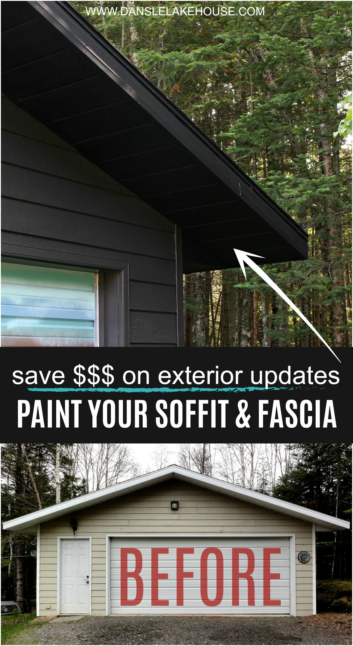 Paint Your Soffit & Fascia