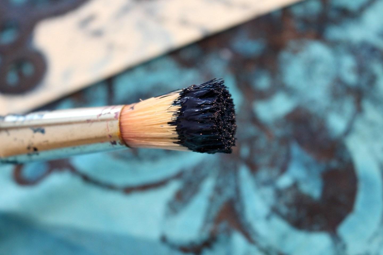 Stippling Brush for Stencils