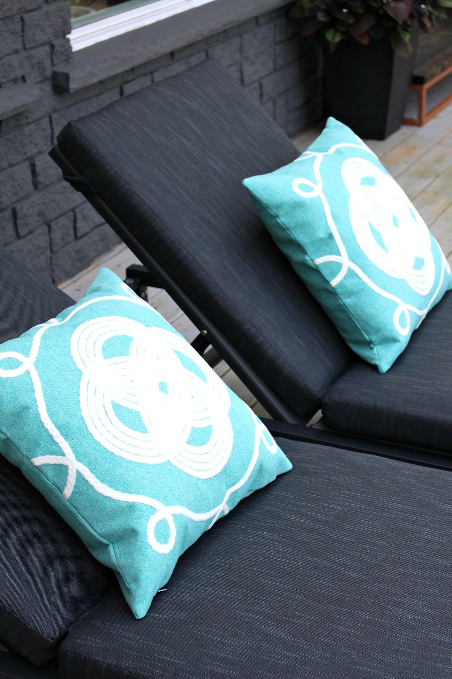 Turquoise Nautical Pillows