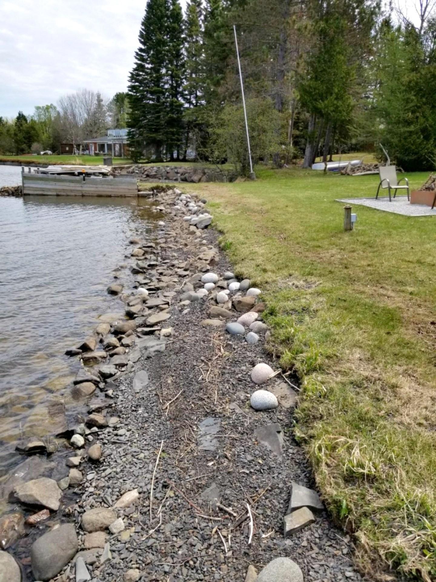 Shore Erosion Lake Superior