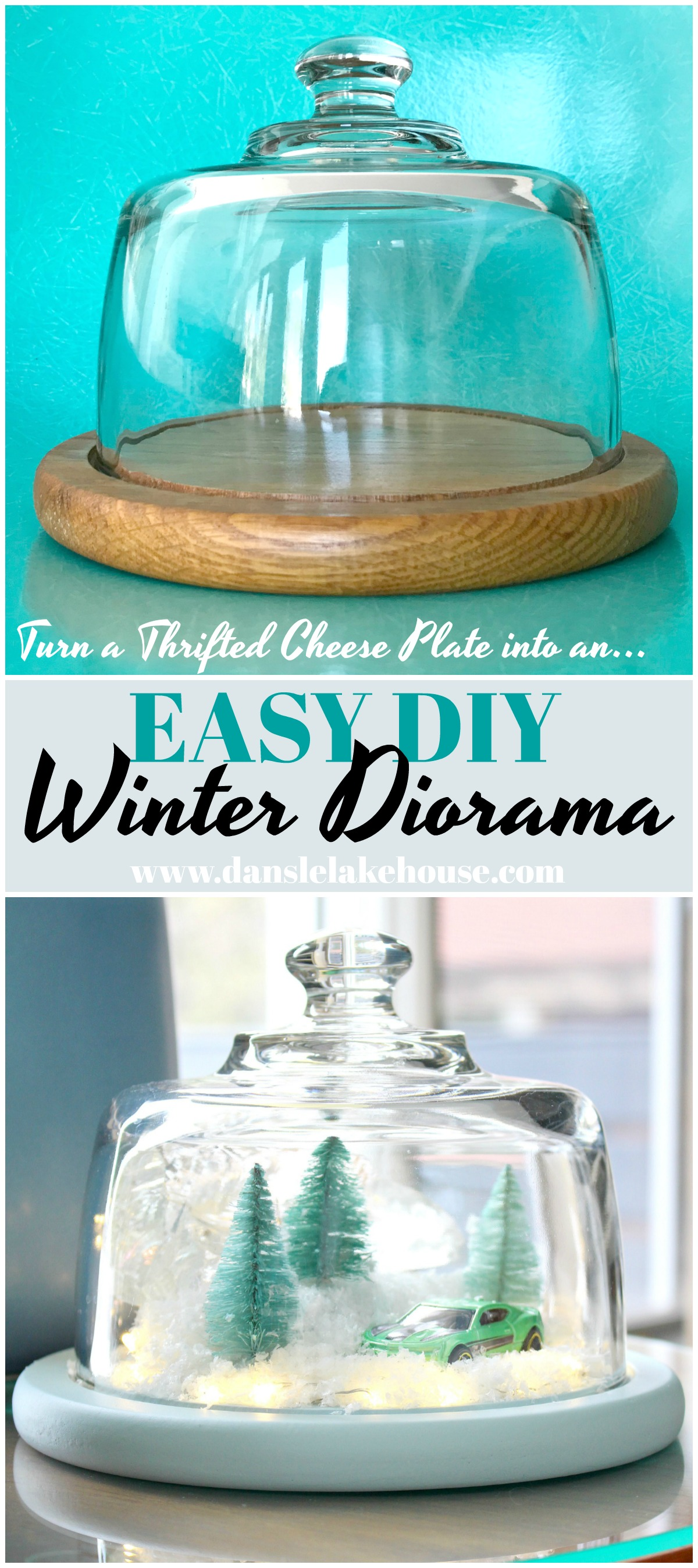 DIY Winter Diorama | aka The Camaro Cloche