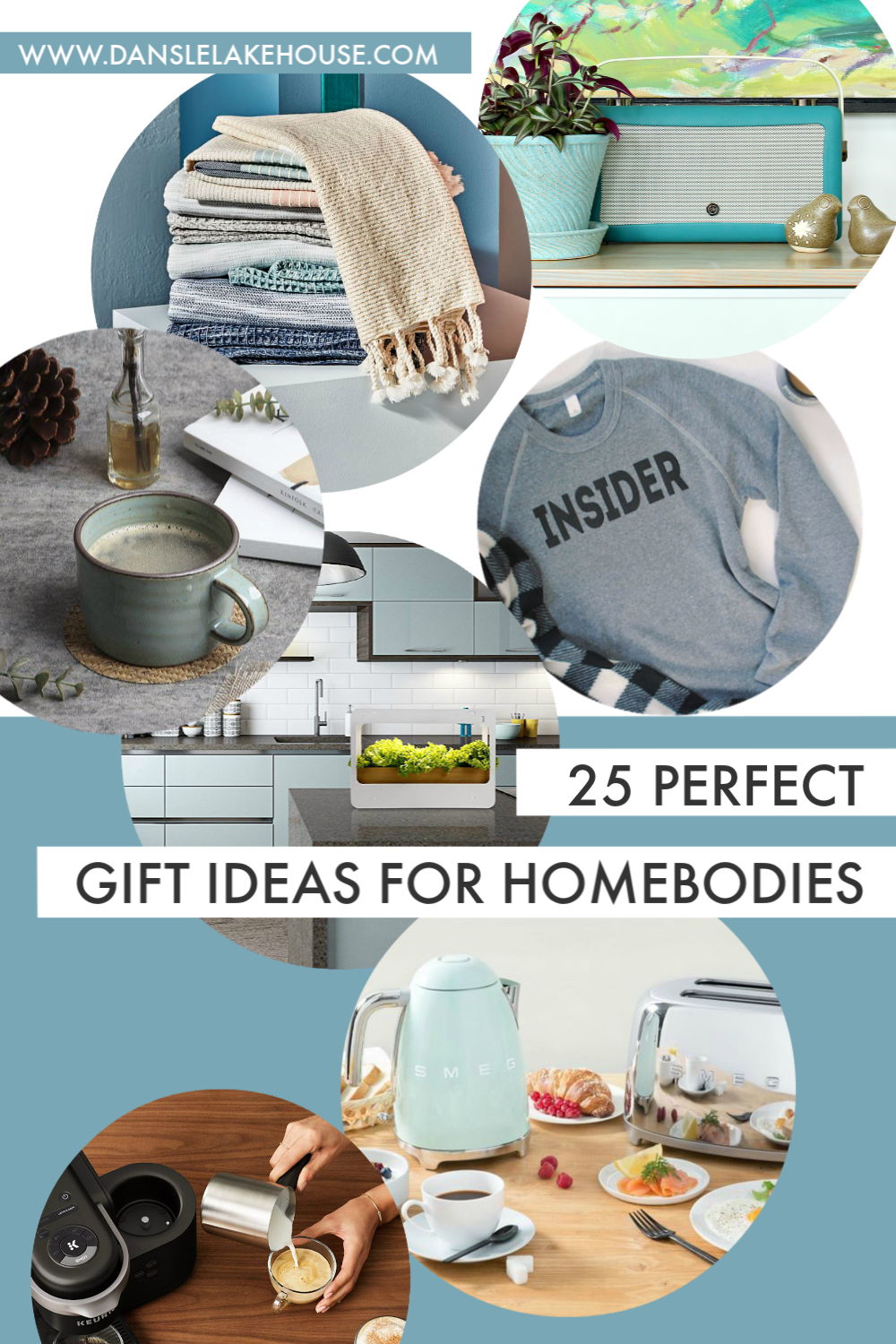 Holiday Gift Guide: 25 Gift Ideas for Homebodies 2018
