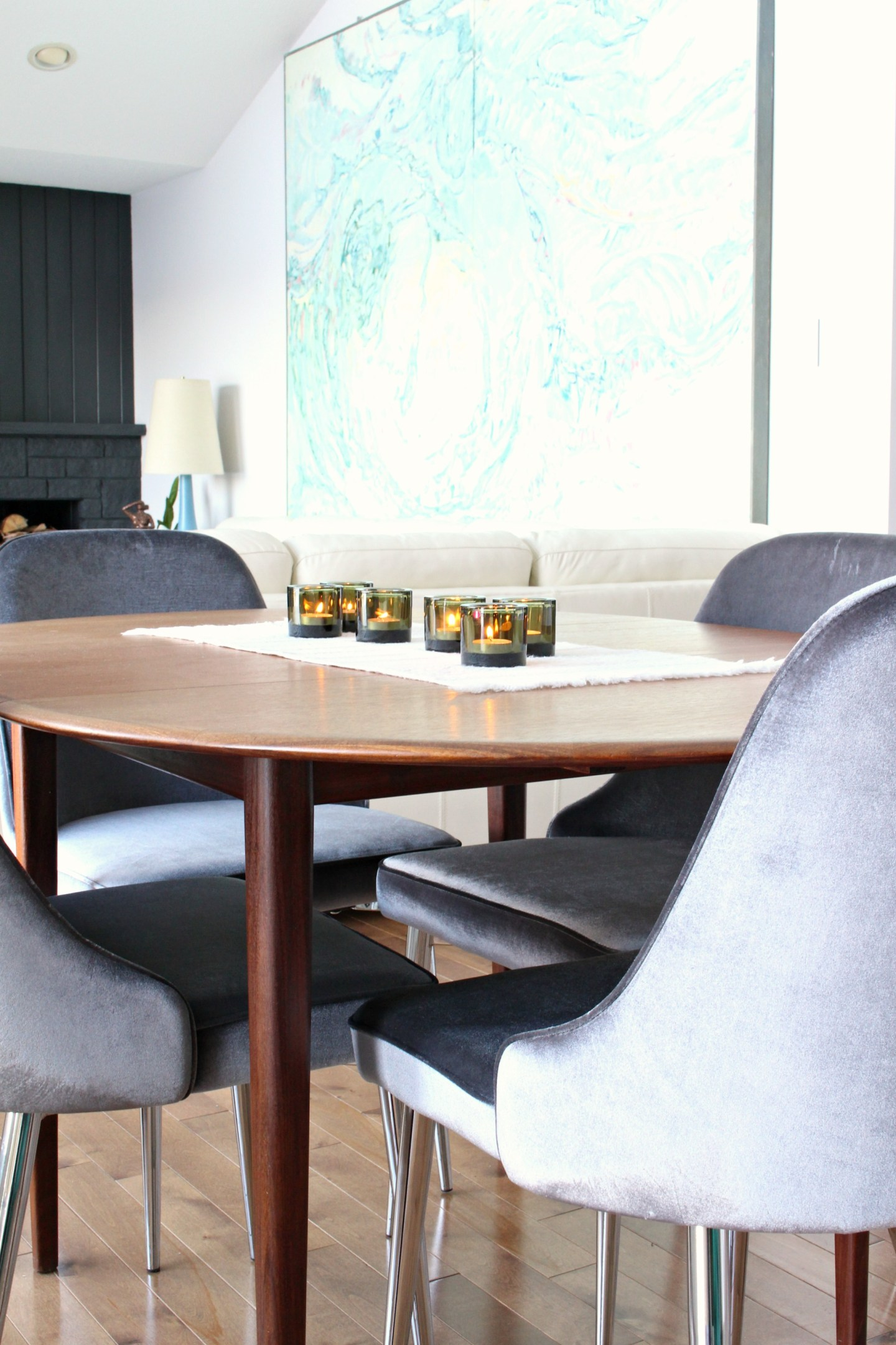 New grey velvet dining chairs 10 affordable mid century modern inspired dining chairs