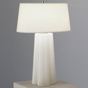 WHITE WAVY LAMP ROBBERT ABBEY