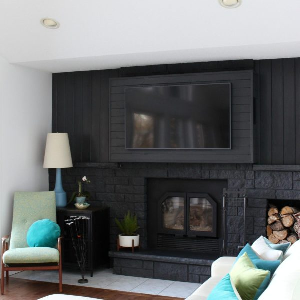 FIREPLACE HACK TO HANG A TV